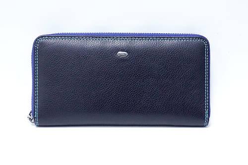 31ad6aa3767a Кожаный кошелек на молнии Dr.Bond Rainbow WRS-2 Blue: продажа, цена в  Полтаве. кошельки и портмоне от