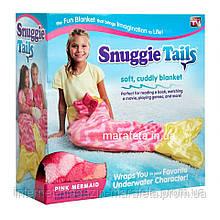 Плед-Одеяло в виде хвоста русалки Snuggie Tails для девочек