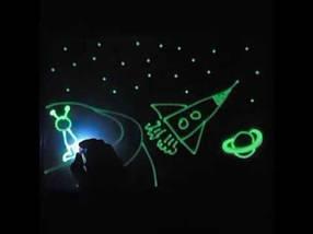 Набор для рисования Рисуй светом А5, творческий набор, развивающая игрушка доска для рисования светом подарок, фото 3