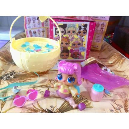 Кукла в шаре L.O.L. Surprise Confetti POP реплика, фото 2