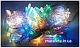 Новогодняя Светодиодная Гирлянда Нить на Елку Внутренняя 400 LED Мульти пр / п, фото 2