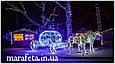 Уличная Светодиодная Гирлянда Нить на Тонком Прозрачном Проводе 100L Холодно Белый, фото 7