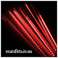 Новогодняя Светодиодная Гирлянда Тающие Сосульки LED, 70 см-8 шт/ разные цвета, фото 3