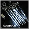 Новогодняя Светодиодная Гирлянда Тающие Сосульки LED, 70 см-8 шт/ разные цвета, фото 6