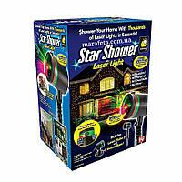 Звездный Уличный проектор Star Shower Laser Light Стар шовер, лазерный проектор звездный дождь