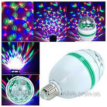 Светодиодная Вращающаяся Диско Лампа LED Mini Party