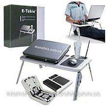 Столик подставка с вентиляцией для ноутбука E-Table LD-09
