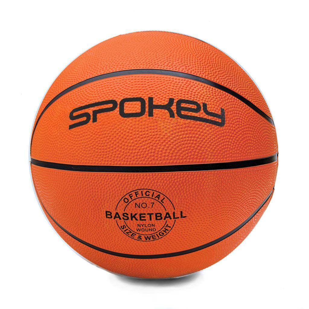 Баскетбольный мяч Spokey CROSS размер 7 Orange-Black s0261, КОД: 199253