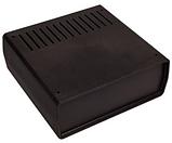 Корпус пластиковий Z-1AW, чорний (68х176х172), фото 2
