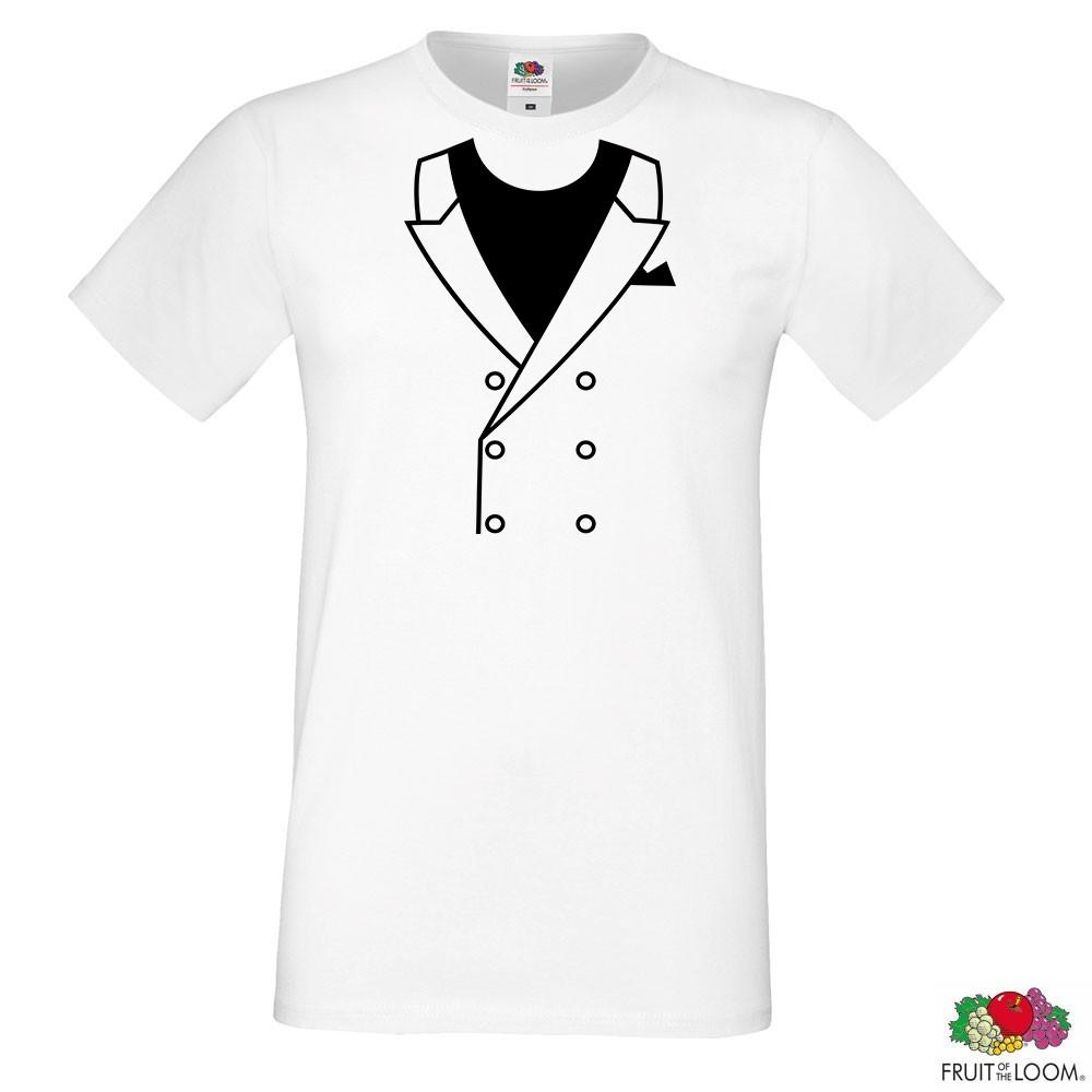 Мужская футболка  с принтом Костюм Push IT