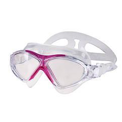 Очки для плавания Spokey Vista Jr для детей Бело-розовые s0155, КОД: 213014