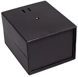 Корпус пластиковий Z-3AW, чорний (68х90х110), фото 2