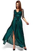 Платье вечернее из гипюра Янина