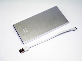 Ультратонкий Power Bank Xiaomi 28000 mAh 2 USB+ліхтарик CG09, фото 3