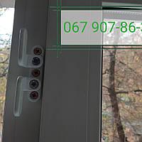 Стальная защита окон от взлома, замки блокираторы окна от воров