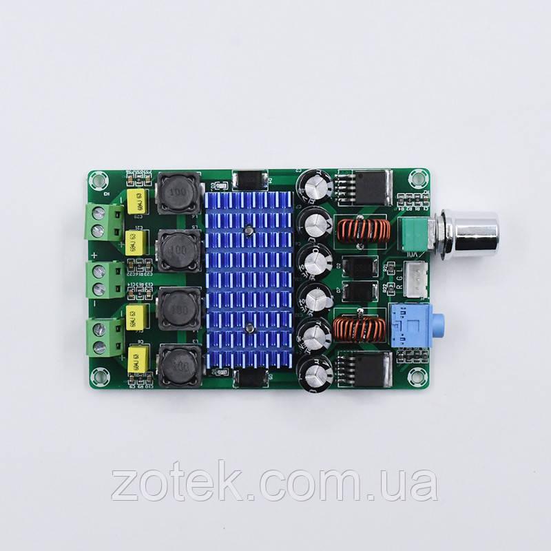 XH-M643 Усилитель звука TPA3116D2  2*50Вт  2.0 DC 12-24В  с преобразователем
