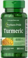 Куркумин бактерицидное, Puritan's Pride Turmeric  Curcumin  400 mg 100 capsules , фото 2