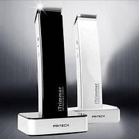 Машинка триммер для стрижки волос PRITECH PR 1288, аккумуляторный триммер CG21 PR4