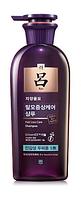 Лечебный шампунь от выпадения волос для чувствительной кожи головы  RyoPurple Jayang Yunmo Shampoo400 мл