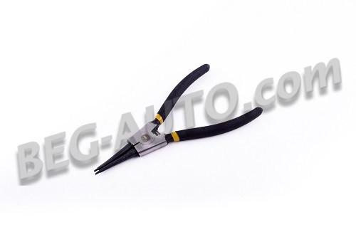 Съёмник стопорных колец обрезин. 180 мм СЕГЕРА (наружные на разжим, прямые)