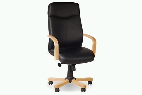 Кресло кожаное для руководителя «Rapsody extra» SP