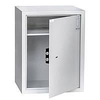 Офисный сейф 40х52х36 см. БС-52К.П1.7035 механический замок для дома, офиса, в гостиницу