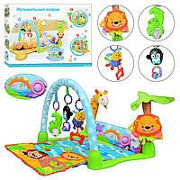 Детский музыкальный коврик Joy Toy Умный малыш 7181 Разноцветный 10-JT7181, КОД: 288117