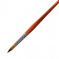 Кисть синтетика круглая №10 Carrot 1097R 4210970r10
