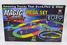 Гибкая чудо-трасса Magic Tracks Mega Set - 360 деталей + мост + 2 машинки