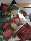 Новогодний пакет с петлевой ручкой 40*42 , 10 шт, фото 2