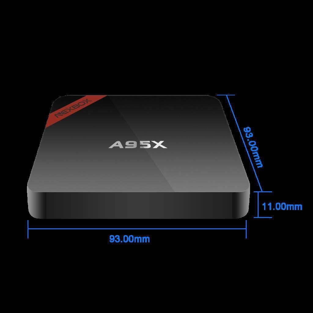 Новинка Смарт ТВ приставка Smart TV NexBox A95 Android 6 PR5