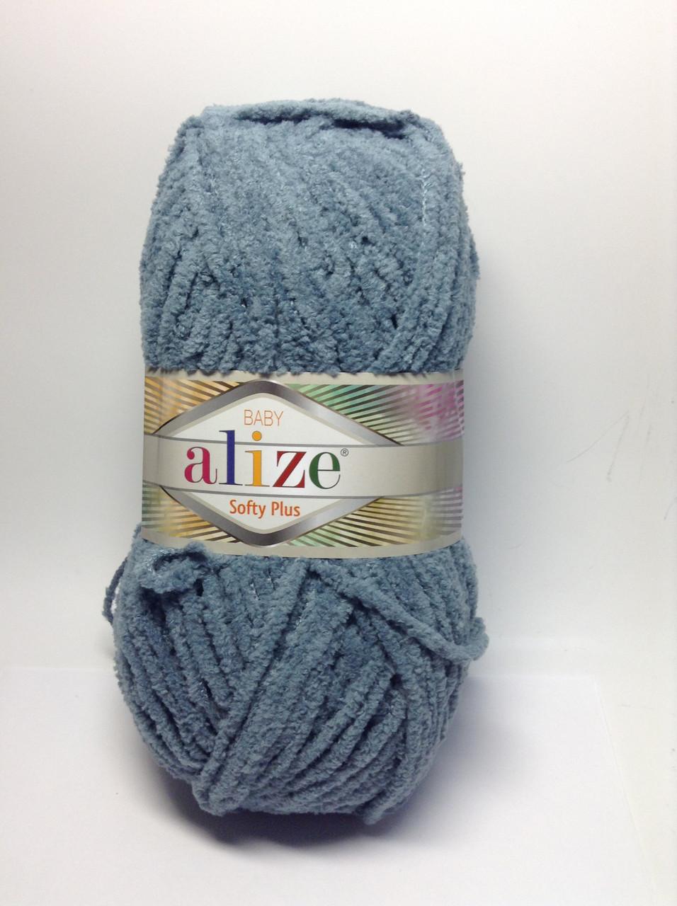 Пряжа softy plus Alize (плюшева)