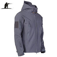 Тактическая куртка Soft shell esdy Серая.