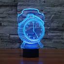 3D Светильник Часы, фото 2