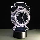 3D Светильник Часы, фото 4