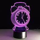 3D Светильник Часы, фото 5