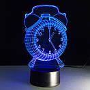 3D Светильник Часы, фото 3
