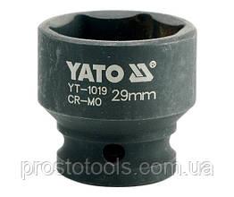 """Головка торцевая ударная шестигранная YATO 1/2"""" М29 х 48 мм YT-1019"""