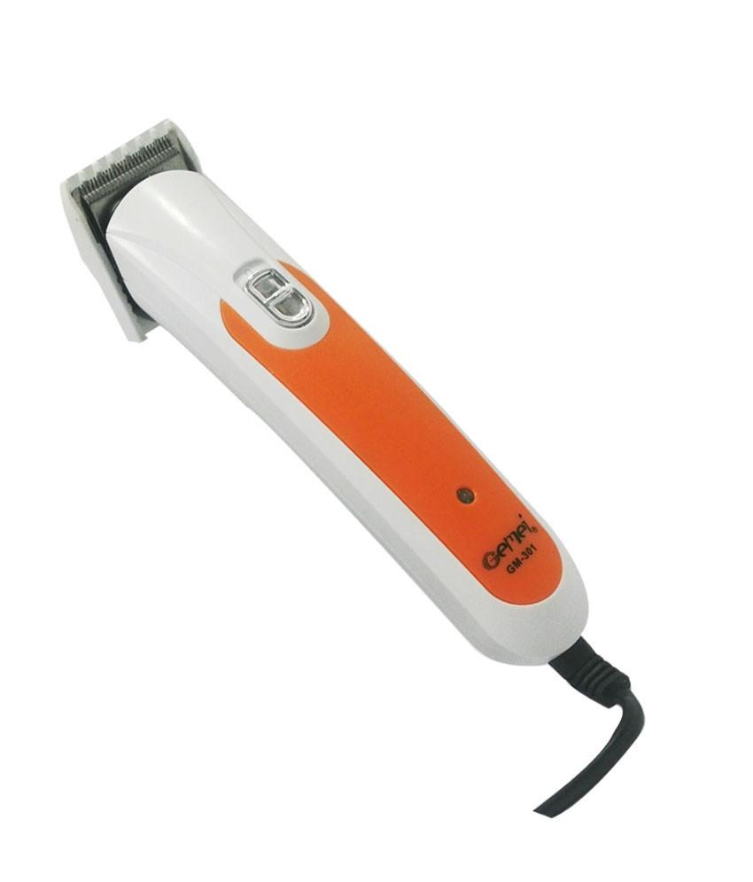 Машинка для стрижки волос проводная,из нержавеющей стали GEMEI GM-301 CG21 PR2