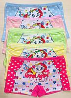 Трусики-шортики детские для девочек хлопок размер XL(10-12 лет)