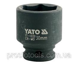"""Головка торцевая ударная шестигранная YATO 1/2"""" М30 х 48 мм YT-1020"""
