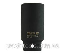 """Головка торцевая ударная шестигранная YATO 1/2"""" М28 х 78 мм YT-1048"""