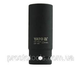 """Головка торцевая ударная шестигранная YATO 1/2"""" М23 х 78 мм YT-1043"""