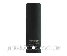 """Головка торцевая ударная шестигранная YATO 1/2"""" М16 х 78 мм YT-1036"""