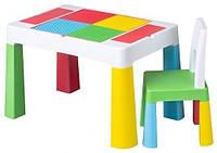 Комплект детской мебели Tega Baby MultiFun стол и 2 стула Multicolor