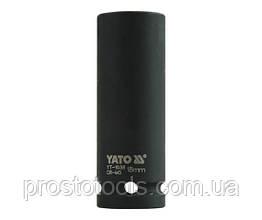 """Головка торцевая ударная шестигранная YATO 1/2"""" М18 х 78 мм YT-1038"""