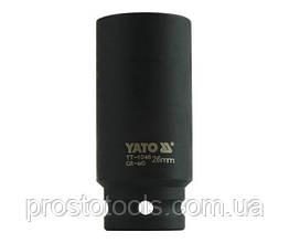 """Головка торцевая ударная шестигранная YATO 1/2"""" М26 х 78 мм YT-1046"""