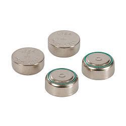 Батарейки алкалінові LR44/A76/AG13, 1,5V, 4шт/уп, 0% ртуті, кадмію та свинцю, Power Master