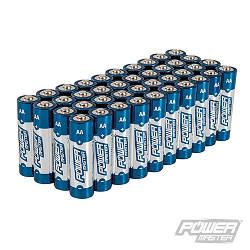 Батарейки алкалінові АА, 1,5V LR6, 0% ртуті, кадмію та свинцю, Ultra + Power, Power Master