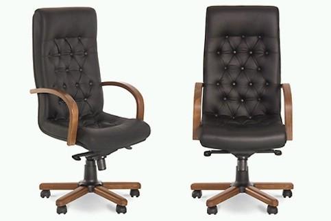 Кресло кожаное для руководителя  «Fidel Lux extra» LE